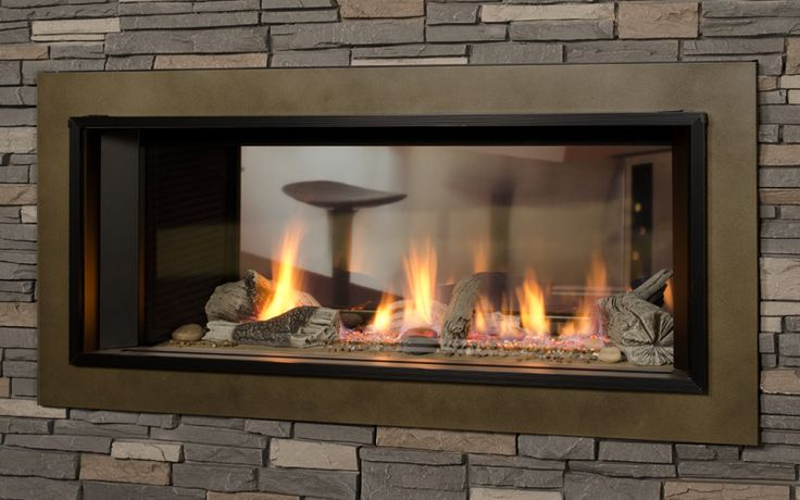 17 Best Images About Valor Fireplaces L1 Linear Series 2 Sided On Pinterest Shops Electric