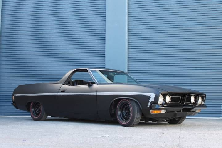 Ford XB GS Falcon UTE... technically not a Ranchero but I'm throwing it in here anyway... pretty good looking trucklet...