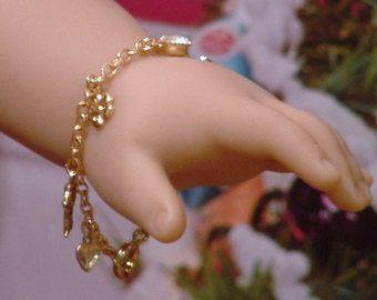 Namen Armband für amerikanische Mädchen Puppen: von BFFandMEJewelry