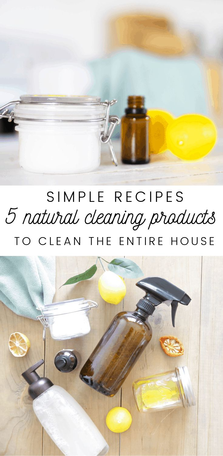 Cleaning with Natural Products