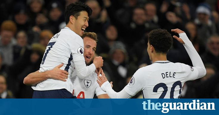 Harry Kane strikes twice as Tottenham brush aside hapless Stoke City  ||  Tottenham Hotspur ran riot in the second half, hitting four goals in a 5-1 thrashing of Stoke City, Ryan Shawcross scoring for both sides at Wembley https://www.theguardian.com/football/2017/dec/09/tottenham-hotspur-stoke-city-premier-league-match-report?utm_campaign=crowdfire&utm_content=crowdfire&utm_medium=social&utm_source=pinterest
