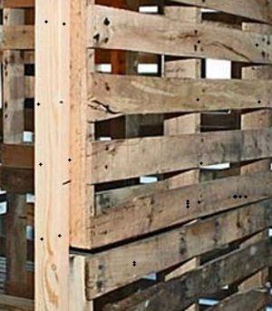 DIY instructions Wooden Pallet Room Divider