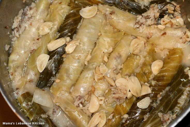 Stuffed Cabbage Rolls With Meat and Rice – Malfouf Recipe | Mama's Lebanese Kitchen