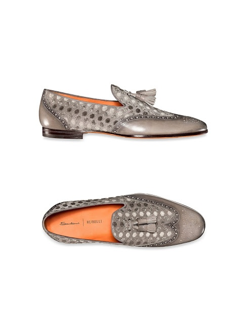 Santoni / Rubelli Shoes.  Available from December 2012
