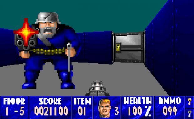 ... 1992 вышла Wolfenstein 3D: Spear of Destiny. - lpost.ru