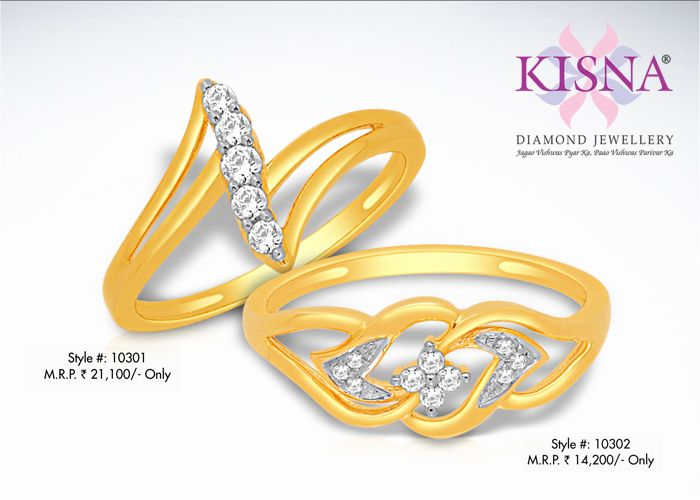 Looking for latest ring designs for wedding or engagement? Check out Kisna's Ring Collection. http://www.kisna.com/diamond-jewellery/rings/ #diamondring #wedding #engagement #occasion