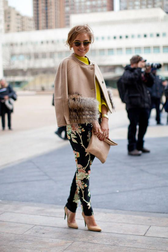 2015 Floral Pants For Women - Street Style Trends (16)