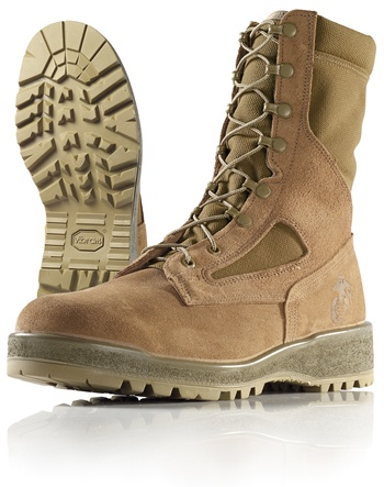 Wellco Mens Boots Temperate Weather Combat Desert # E114