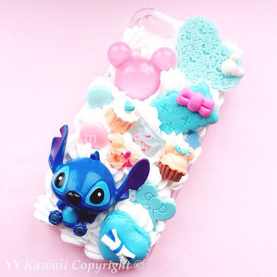 Stitch baby chibi decoden kawaii sweets phone case by YYKawaii, $22.00