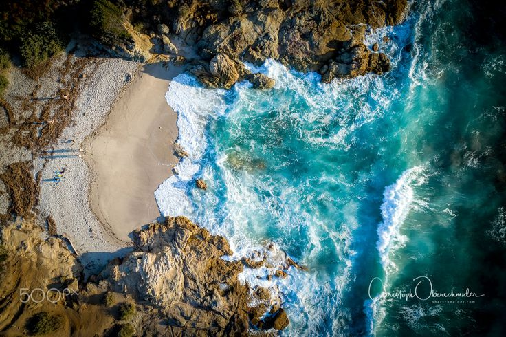 "Waves Rolling In - Aerial image captured with a DJI Phantom 4 Pro. Image available for licensing.  Order prints of my images online, shipping worldwide via  <a href=""http://www.pixopolitan.net/photographers/oberschneider-christoph-a6030.html"">Pixopolitan</a> See more of my work here:  <a href=""http://www.oberschneider.com"">www.oberschneider.com</a>  Facebook: <a href=""http://www.facebook.com/Christoph.Oberschneider.Photography"">Christoph Oberschneider Photography</a> follow me on <a…"