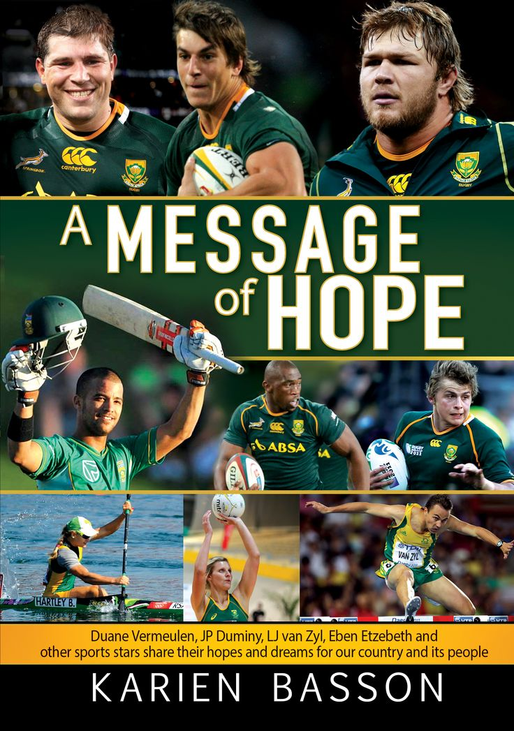 #messageofhope #hope #inspirational #sport Karien Basson
