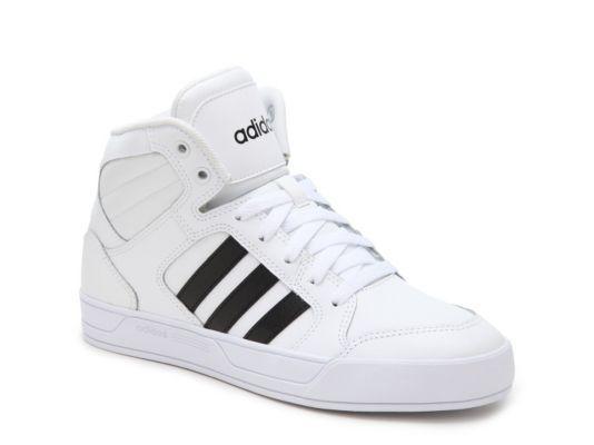 Women's adidas NEO Raleigh High-Top Sneaker - - White ...