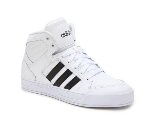 Women's adidas NEO Raleigh High-Top Sneaker -  - White/Black