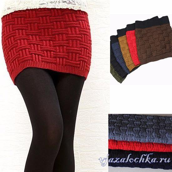 Mini skirt with needles Original url (Russian): http://vjazalochka.ru/vyazanie-dlya-zhenshchin/yubki-shorty-shtany/mini-yubka-spicami