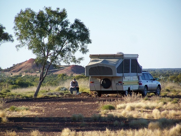 Poddy Creek Free Camping Area, btw Winton & Middleton, #Outback #Queensland, #Australia