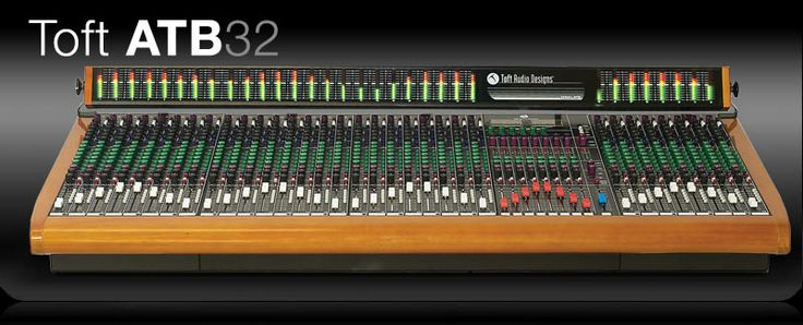 Toft ATB 32 Analog Console  The ATB is the best possible solution for your studio setup. Whether you are in a project studio or a major recording facility, the ATB is sure to impress even the most demanding critics. Make no doubt about it, the Toft ATB console is a dream come to life.