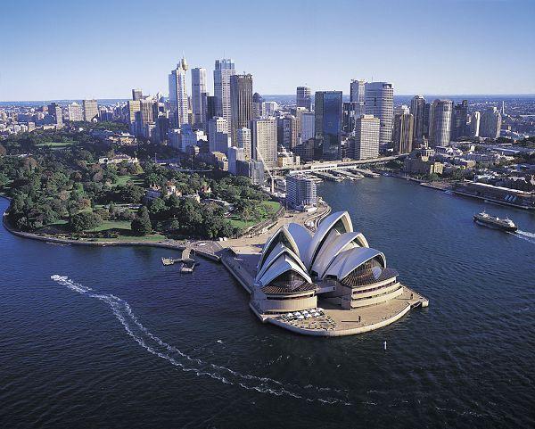 Sydney, Australia - it just looks like a beautiful place to visit.