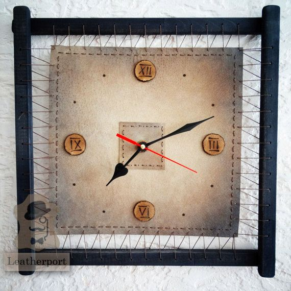 22 best Handmade Wall Clocks images on Pinterest Handmade wall