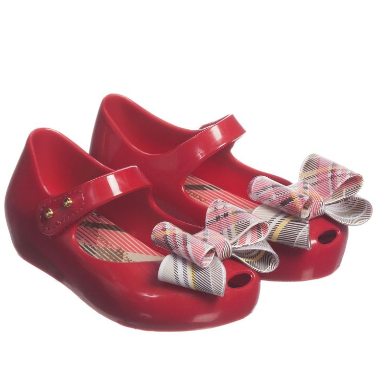 Mini Melissa Red Vivienne Westwood Jelly Shoes at Childrensalon.com