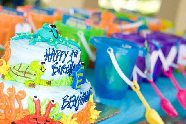 little boys under the sea birthday. love those party favors!
