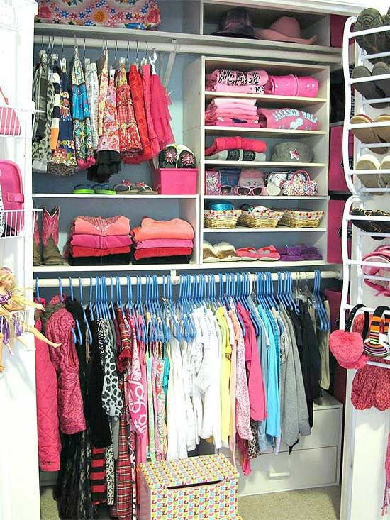 Shortcuts For Organizing Kids 39 Closets The Office
