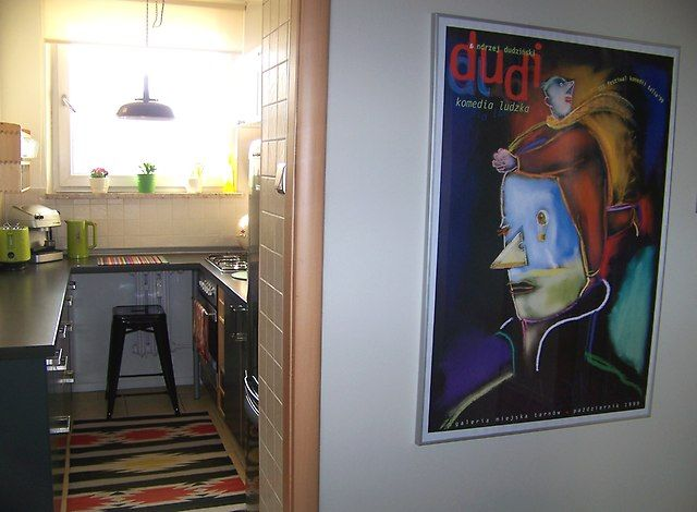 kuchnia - widok z przedpokoju