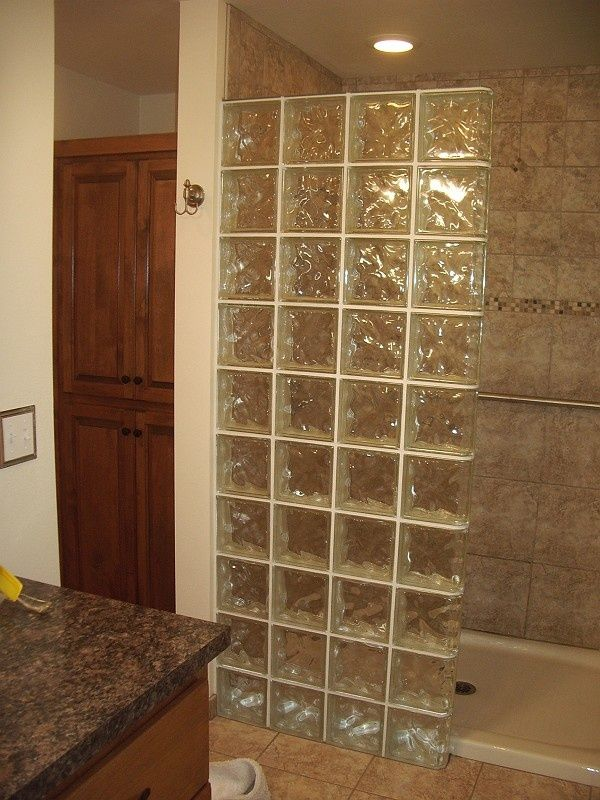Glass Block Shower Stalls Bing Images Glass Block