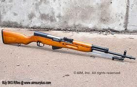 sks - wood stock