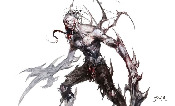 Deformed Zombie by ~ChaoyuanXu on deviantART