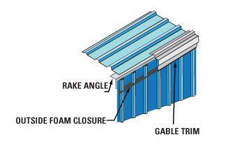 Gable Trim Steel Building Details Metal Buildings