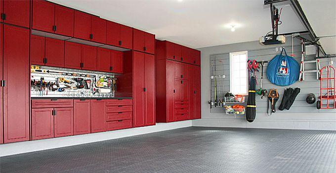 Michigan and Detroit Custom Garage Storage | Custom Closet | Epoxy Floor Coating | Slotwall, Wall Storage Systems
