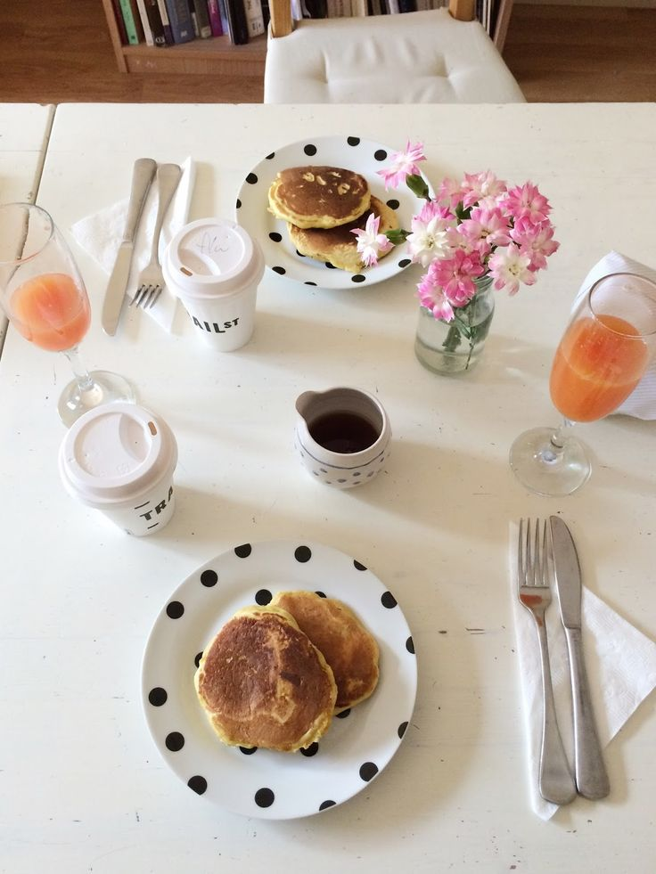 Pink grapefruit and orange juice, an easy update on a breakfast classic.