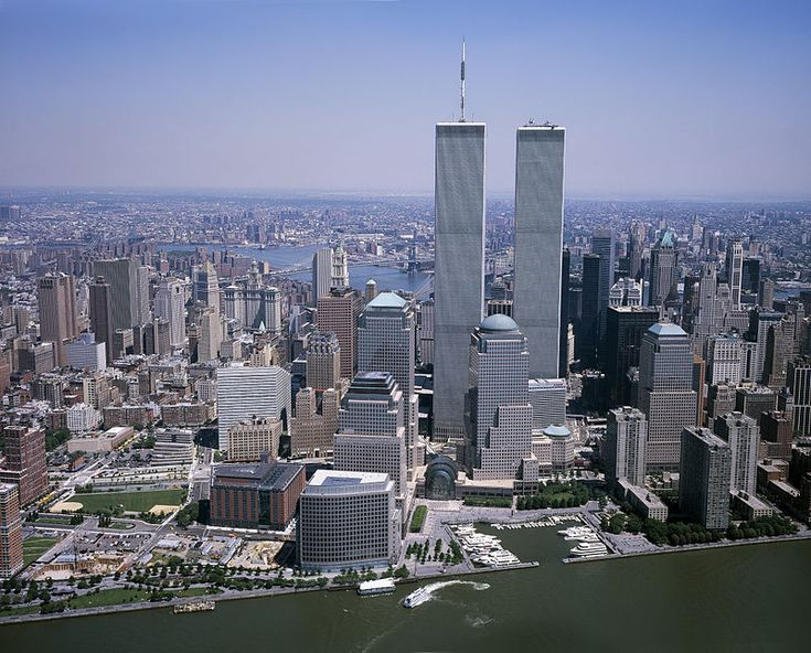 "#  MANHATTAN  #     ""TheTwin Towers"". 'World Trade Center'.                       New York City, USA."