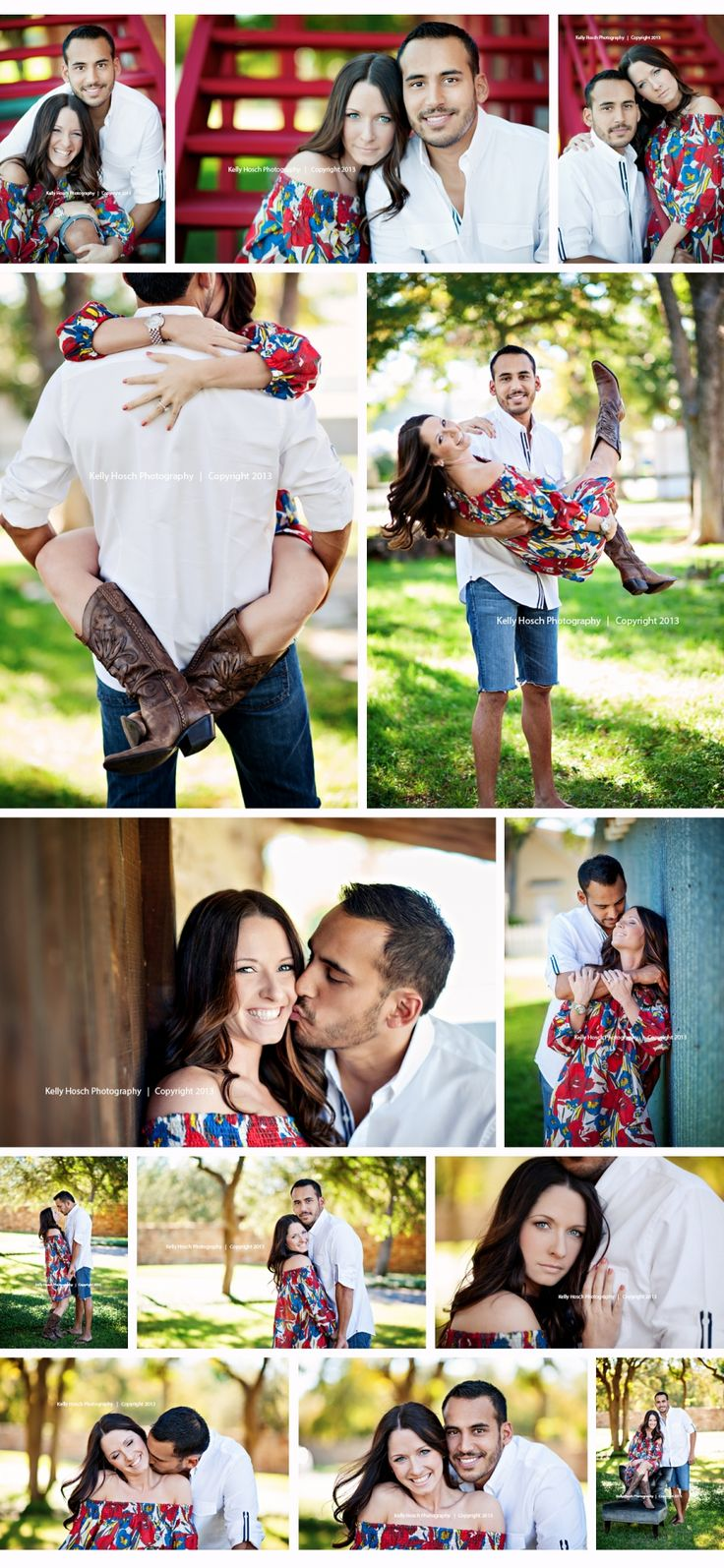 Super cute outdoor engagement photos. Great pose ideas for couples! Engagment photography | couples photography | park engagement photos |  Jonathan + Elizabeth | Salado Texas Photographer » Kelly Hosch Photography | Temple, Belton, and Salado Texas Portrait and Wedding Photographer