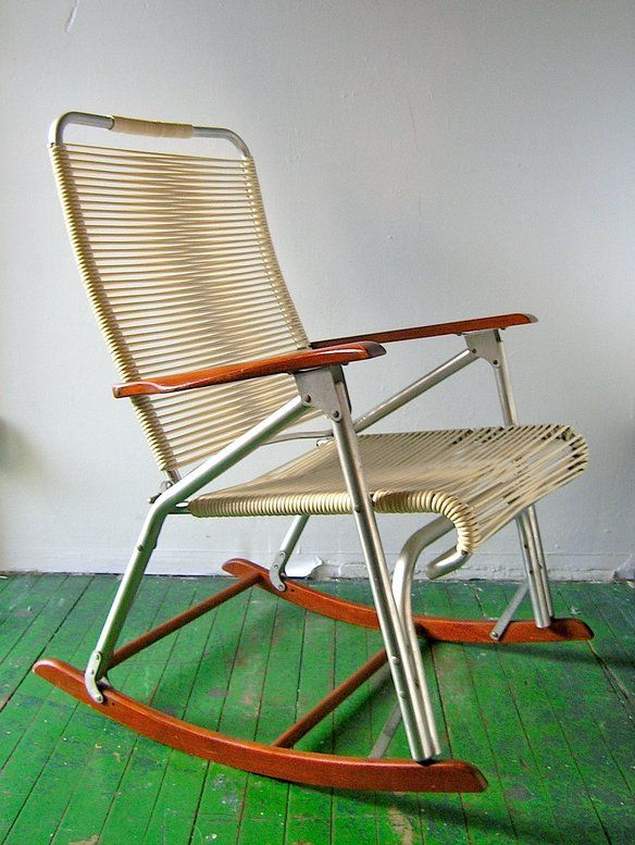 50s Rocking Chair   Telescope Furn Co Outdoor