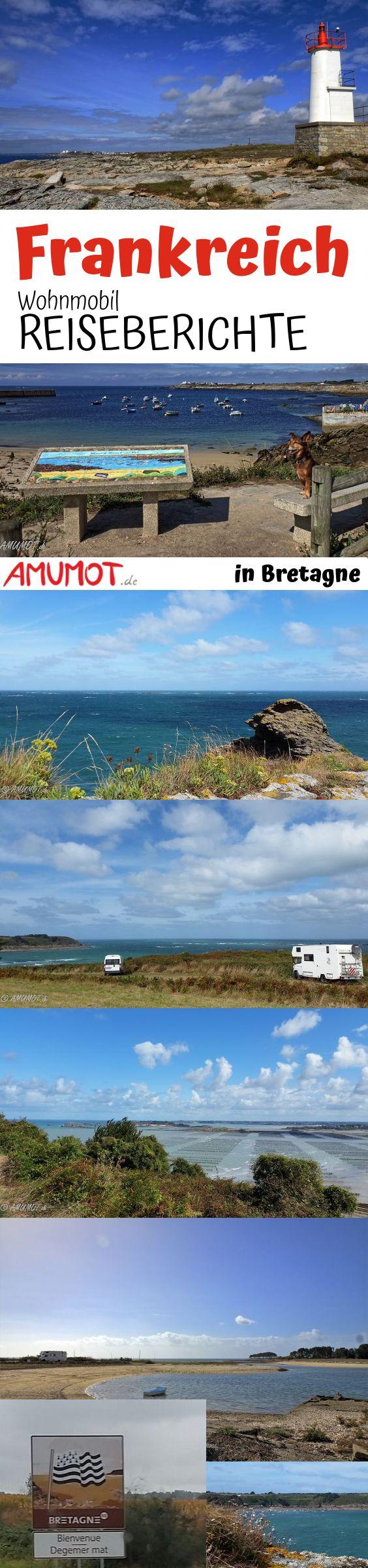 Mit dem Wohnmobil nach Frankreich - Bretagne! Dieser Bretagne Reisebericht beginnt am Mont Saint Michel und führt entlang der Küste zu verschiedenen sehenswerten Orten.