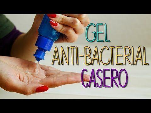 ¿Cómo hacer gel antibacterial casero?
