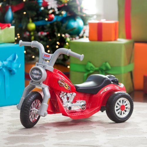 Fisher-Price Power Wheels Lil Harley Motorcycle Battery Powered Riding Toy - Battery Powered Riding Toys at Hayneedle