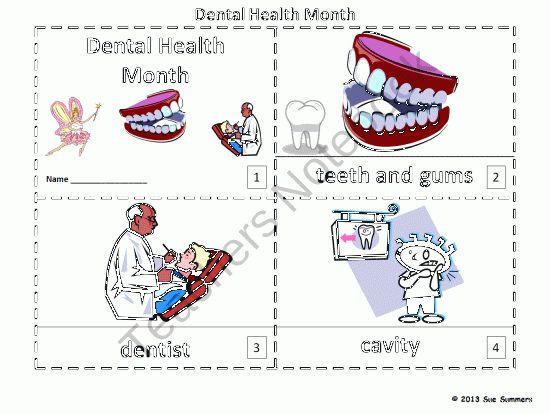 Dental Health Month 2 Booklets