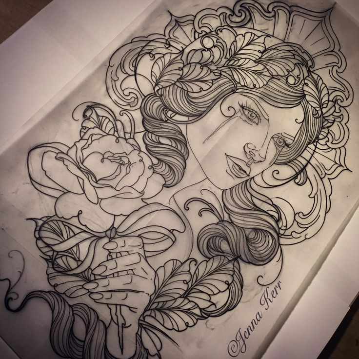 39 best images about drawings by jenna kerr on pinterest tattoo drawings lace and mermaids. Black Bedroom Furniture Sets. Home Design Ideas