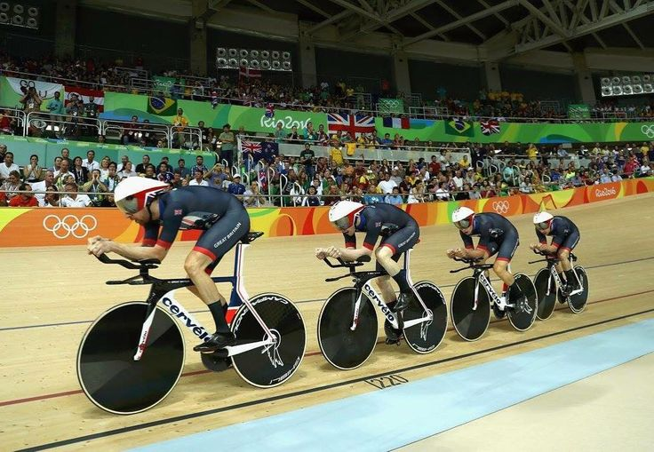 Team GB Cycling rule the track at Rio 2016! 6 Gold 4 Silver 1 Bronze. Cervelo T5GB. #teamgbcycling #olympics #rio2016 #cervelo #t5gb #trackcycling #bikesnbites