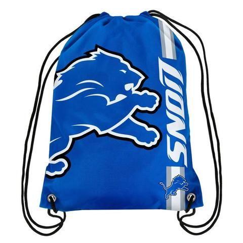 NFL Detroit Lions Big Logo Drawstring Backpack
