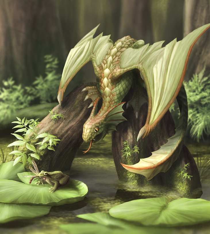Young Moordragon by dashase.deviantart.com