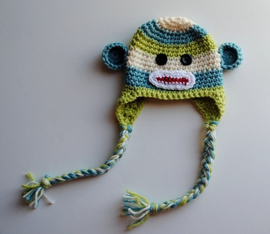 301 Best Images About Crochet Sock Monkey Items On