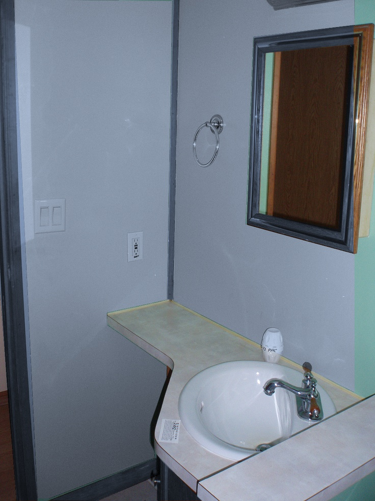 bathroom of our new home virtually painted at glidden paint colors