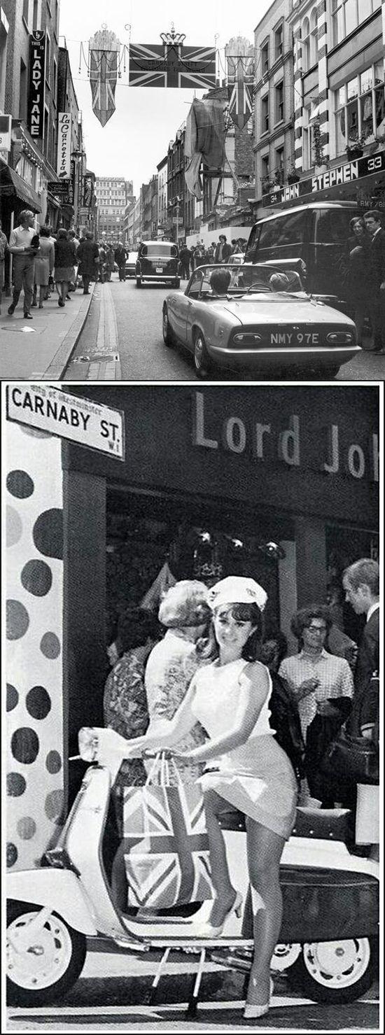 Carnaby Street, London, 1967