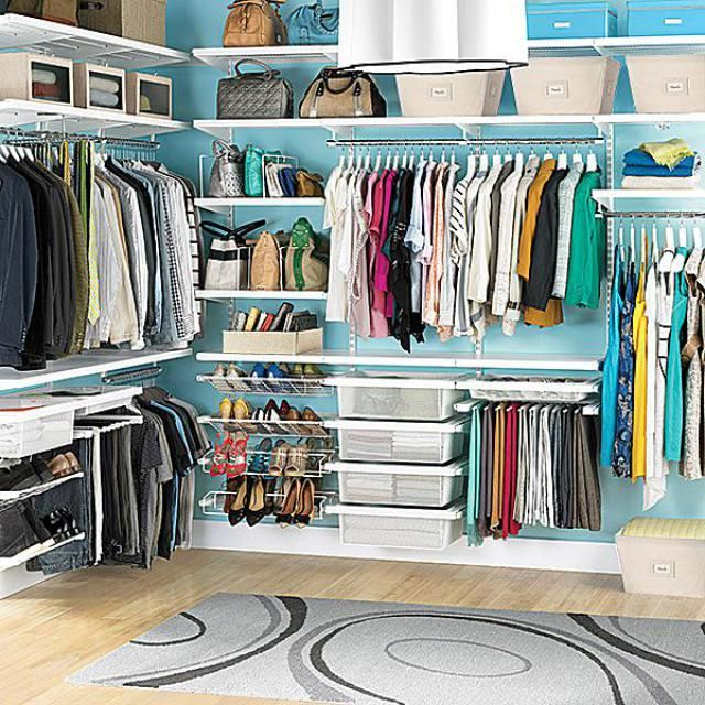 50 Room Organization Ideas to Help You Cut Clutter in Your Home: Keep Your Most Worn Items Near the Front