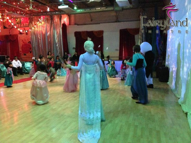 Frozen Themed Party For Kids Toronto Fairyland Theatre Party - Childrens birthday parties north york