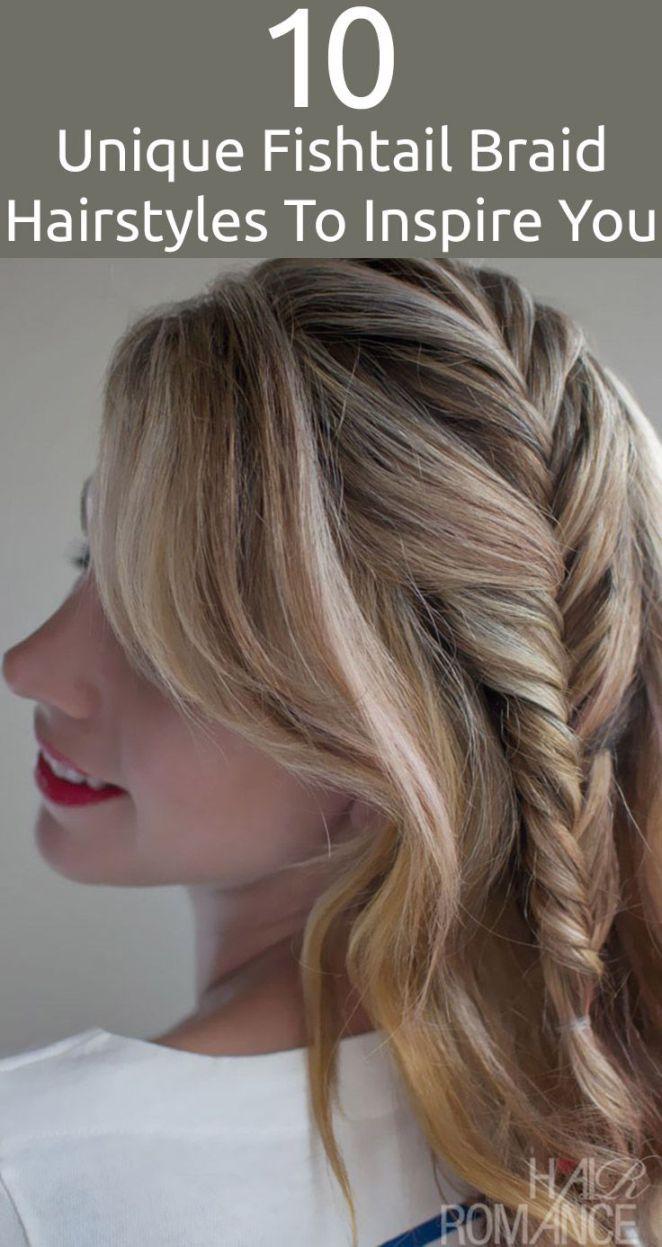 Idées Coiffures Pour Femme  2017 / 2018   10 coiffures de queue de poisson unique pour vous inspirer