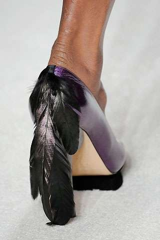 Feathered Footwear 8